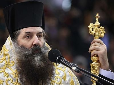 "According to Metropolitan Seraphim, the activities of the Metropolitan of Mantineia and Kynouria ""have inspired God's people"" for many decades. ""He has taken care for his diocese wisely, with prudence and sacrificial love."""