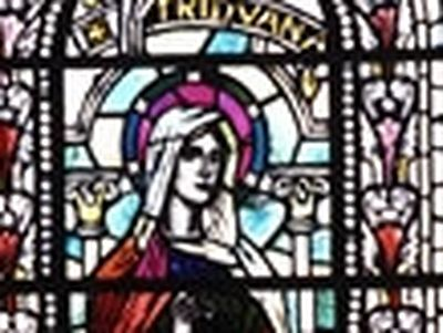 St. Triduana (also Triduna, Tradwell), one of the most venerated female saints of Scotland, lived between the fourth and the eighth centuries.