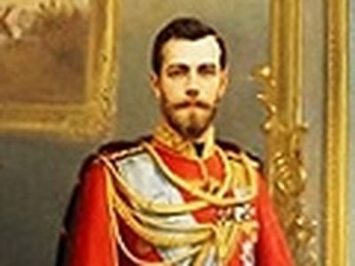 Historical justice is done, a portrait of Emperor Nicholas II - by the Russian artist Ilya Savich Galkin (1860-1915) - hidden from human eyes for some ninety-odd years - was presented at the St. Petersburg Museum of Applied Arts on November 30th.