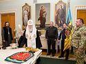 Лже-патриарх Филарет наградил украинских военных, воюющих на Донбассе