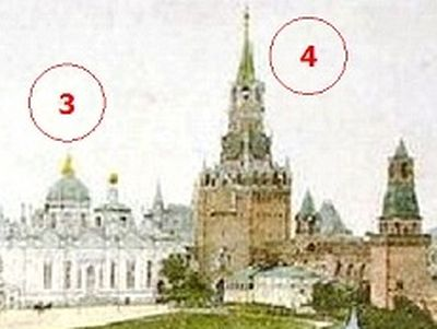 During the Soviet years, numerous architectural monuments of the Moscow Kremlin were lost. Churches, monasteries, and other monuments were destroyed because they were reminders of the tsarist past, and to make way for architectural monuments which wo