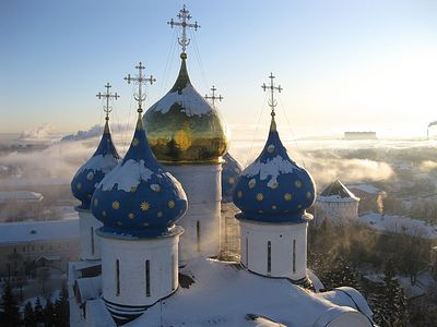 The Pravoslavie.ru website is offering you a gallery of selected photographs of Holy Russia (Rus') in winter—its nature, people and churches. We wish our readers to spend the Christmas holidays to the benefit of body and soul.