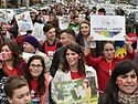 Thousands marched for life throughout Romania and Moldova
