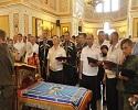 В Крыму прошло освящение казачьих знамен