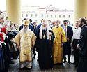 Патриарх Кирилл совершил Первосвятительский визит в Новгородскую митрополию, на Валаам и в Санкт-Петербург