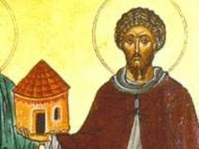 "St. Tysilio, whose name means ""Dear Little Sunday's Child"", is ranked among the Fathers of the Welsh Church."