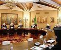 Святейший Патриарх Кирилл возглавил заседание Высшего Церковного Совета
