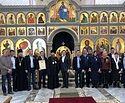 В храме Живоначальной Троицы в Троицке патриаршие медали вручили благотворителям, строителям и художникам