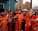 Освящен закладной камень первого в Москве храма святых Жен-мироносиц