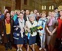 В ПСТГУ прошла встреча с президентом Пушкинского музея Ириной Антоновой
