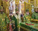 В Псково-Печерском монастыре состоялся праздник в честь Собора Псково-Печерских преподобных