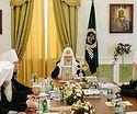 Святейший Патриарх Кирилл открыл первое в истории заседание Священного Синода в Екатеринбурге