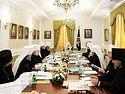 В Екатеринбурге прошло заседание Священного Синода Русской Православной Церкви