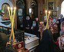 В сотую годовщину гибели преподобномучениц Елисаветы и Варвары состоялись богослужения у их мощей в Гефсимании