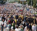 Чиновники блокируют участие верующих УПЦ в Большом Крестном ходе 27 июля