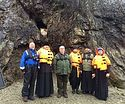 В пещере прп. Трифона в Норвегии установили икону Пресвятой Богородицы
