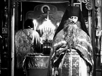 I had the blessing of attending Liturgy at the Monastery of Sts. Constantine and Helen in Varna, Bulgaria, yesterday, on the thirty-sixth anniversary of the repose of Fr. Seraphim (Rose). While it is always a good thing to be at the Divine Liturgy an