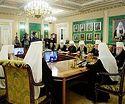 Священный Синод утвердил молитвенные прошения о сохранении единства Православия
