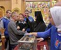 Более 65 тысяч человек поклонилось мощам святителя Спиридона Тримифунтского в Санкт-Петербурге