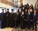 Предстоятель Элладской Православной Церкви посетил прием, организованный Посольством России по случаю праздника Торжества Православия