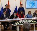 Подписано соглашение о продолжении российского участия в благоукрашении собора святителя Саввы