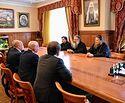 Депутаты Госдумы обсудили с Митрополитом Екатеринбургским Кириллом пути решения проблемы строительства храма Святой Екатерины