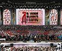 Патриарх Кирилл посетил концерт на Красной площади, посвященный Дню славянской письменности и культуры