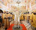 Святейший Патриарх Кирилл совершил освящение храма Казанской иконы Божией Матери в поселке Мещёрский г. Москвы
