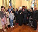 В Благотворительном фонде «Познание» прошла встреча с сирийскими детьми, прибывшими для лечения в Москву