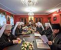 Блаженнейший митрополит Онуфрий возглавил последнее в текущем году заседание Синода Украинской Православной Церкви