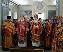 Предстоятели Русской Православной Церкви и Православной Церкви в Америке совершили Литургию в Москве