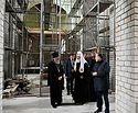 Патриарх Кирилл посетил строящийся храм равноапостольных Кирилла и Мефодия в Калининграде