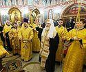 Патриарх Кирилл освятил храм святителя Николая Чудотворца на территории главного офиса компании «ФосАгро» в Москве