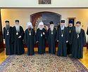 Митрополит Волоколамский Иларион встретился с Патриархом Иринеем и иерархами Сербской Православной Церкви