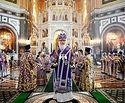 В Неделю 4-ю Великого поста Святейший Патриарх Кирилл совершил Литургию в Храме Христа Спасителя