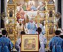 В канун праздника Благовещения Святейший Патриарх Кирилл совершил всенощное бдение в Храме Христа Спасителя
