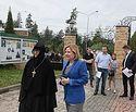 Министр культуры РФ Ольга Любимова посетила с рабочим визитом Зосимову пустынь