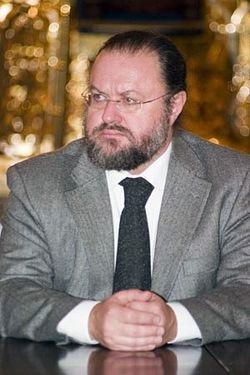 "Председатель Братства ""Радонеж"" Евгений Константинович Никифоров"