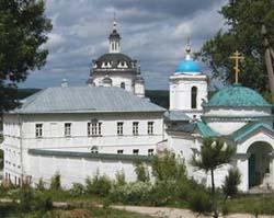 Николо-Черноостровский монастырь в Малоярославце