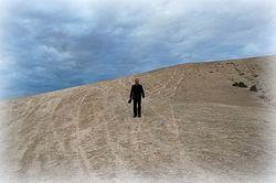 Во время съемок фильма в Иудейской пустыне