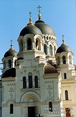Загрузить увеличенное изображение. 334 x 510 px. Размер файла 73839 b.   Новочеркасский кафедральный собор