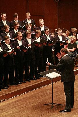 Концерт в «Эвери Фишер Холл», Фото: М. Родионов / Православие.Ru