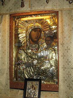 Загрузить увеличенное изображение. 600 x 800 px. Размер файла 236198 b.  Чудотворная Нямецкая икона Божией Матери