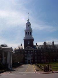 Колокольня Лоуэлл-хауса в Гарварде