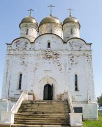 Собор Рождества Пресвятой Богородицы в Лужецком монастыре, построенный при святителе Макарии в начале XVI в.