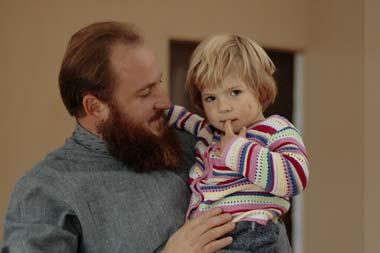 Отец Николай с Евой