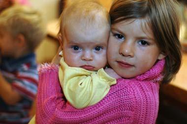 Соня с Анечкой