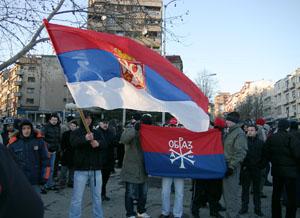 """Не отдадим Косово!"""