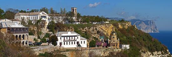 Георгиевский Балаклавский монастырь. Современный вид. Фото: Юрий Данилевский