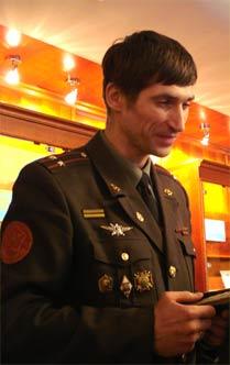 Подполковник Антон Маньшин